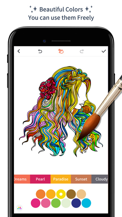 Color Doodle - Adults Coloring Book & Pigment Page on the App Store