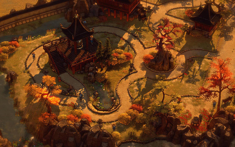影子战术:将军之刃 Shadow Tactics: Blades of the Shogun for Mac 1.1.1