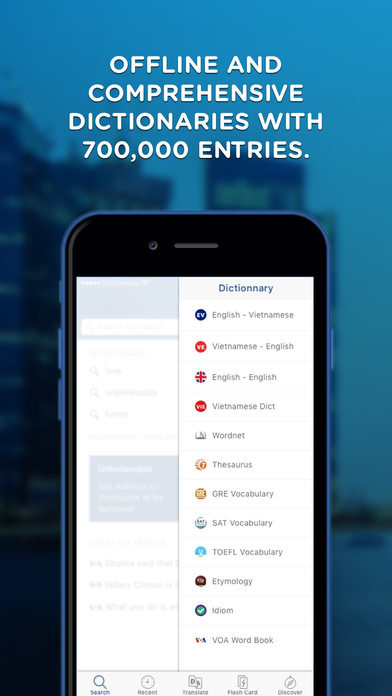 dictionary english to vietnamese for iphone free