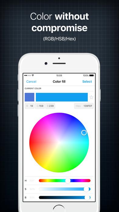 Instalogo logo creator graphic design maker free for Blueprint maker app