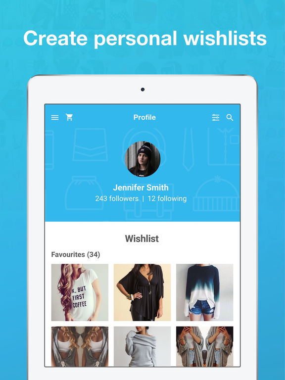 Wish - Shopping Made Fun iPad