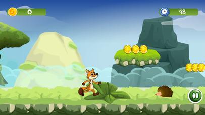 Mr Fox Jungle - Running World Kids Adventure Game screenshot 2