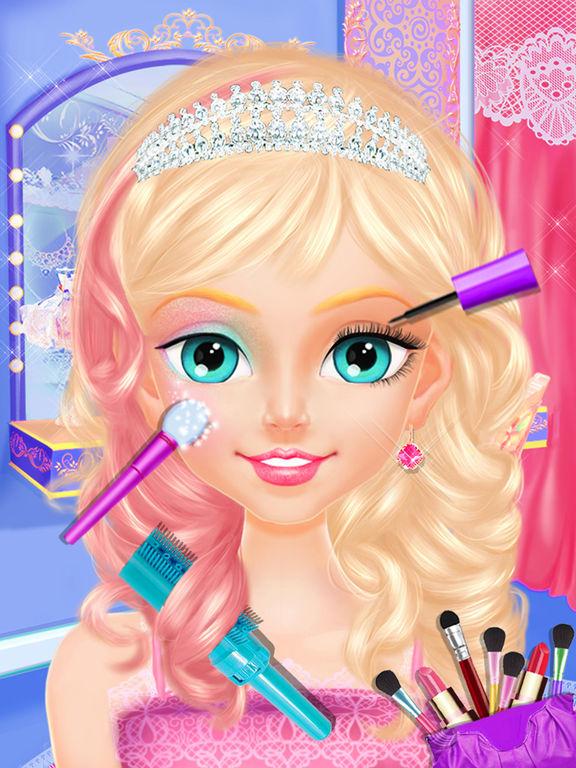 Princess Tea Party - Royal Makeup U0026 Dress Up Salon On The App Store