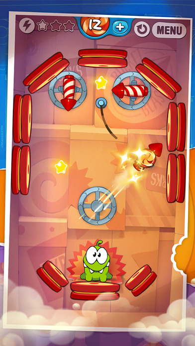 Screenshot #3 for Cut the Rope: Experiments Free