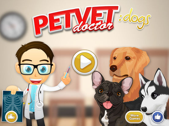 Screenshots of Pet Vet Doctor - DOGS Rescue for iPad