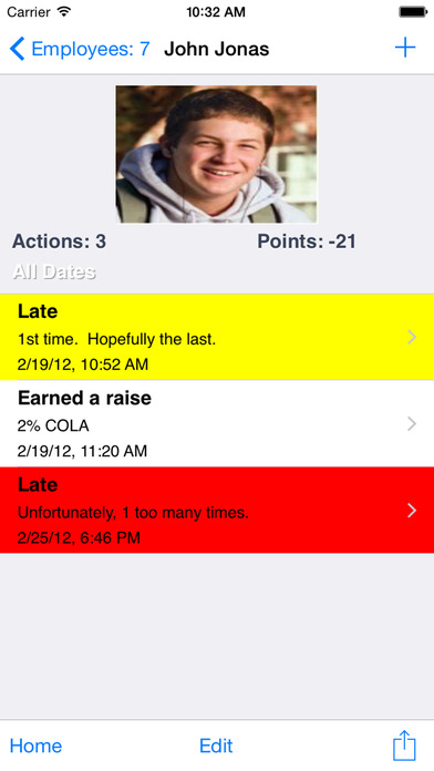 Employee Tracker Lite iPhone Screenshot 2