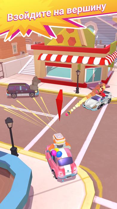 Crash Club - Drive & Smash City Screenshot