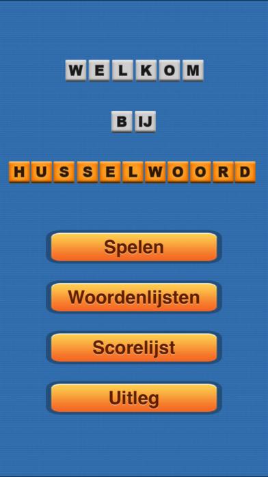 HusselWoord iPhone Screenshot 1