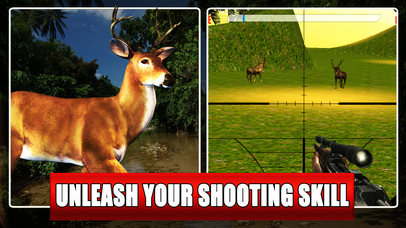 Deer Hunting Game 2016 : Sniper Kill Free screenshot 2