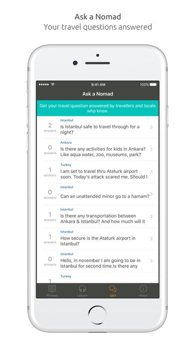 World Nomads Turkish Language Guide iPhone Screenshot 5