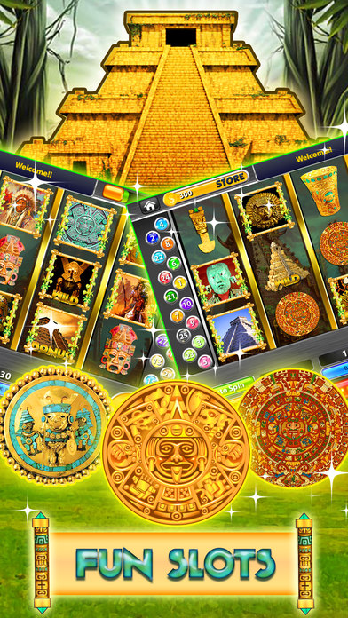 Screenshot 1 Aztech Treasure Slots Casino: Vegas free Slot game