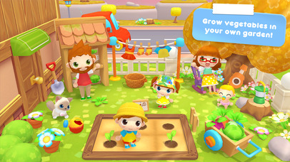 Sweet Home Stories - Family playhouse for kids Apps free for iPhone/iPad screenshot
