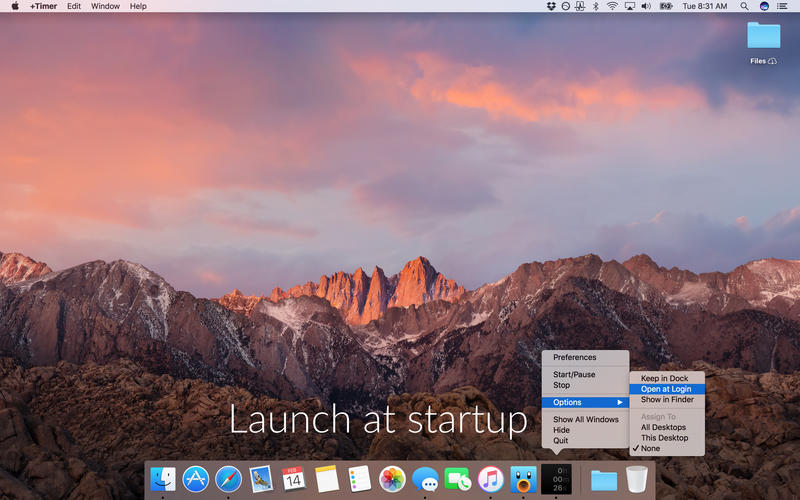 +Timer for Mac