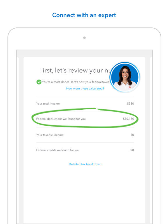 TurboTax Tax Return App File 2016 income taxes on the App Store – Free Profit and Loss Statement for Self Employed