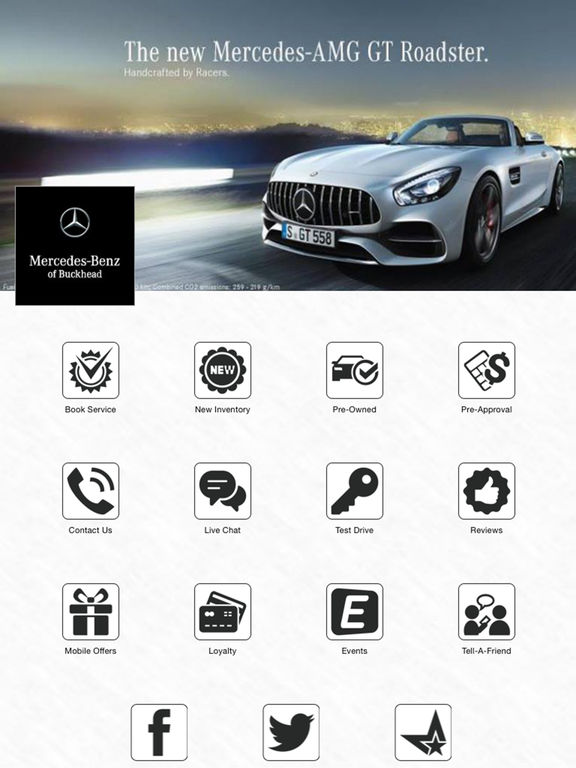 Mercedes of buckhead on the app store for Mercedes benz of buckhead parts