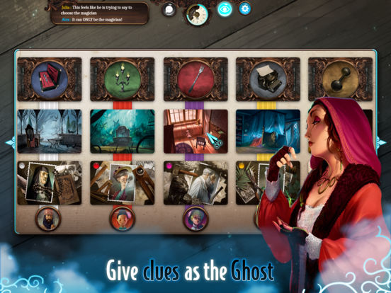 Screenshot #4 for Mysterium: The Board Game