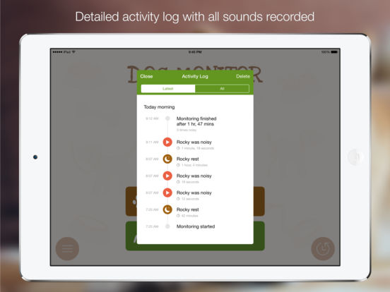 Screenshot #5 for Dog Monitor