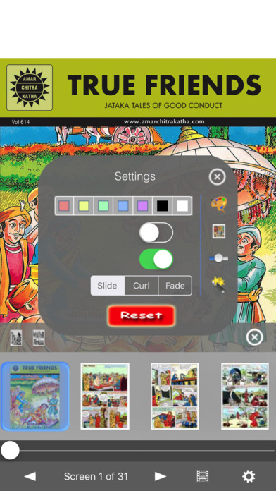 Jataka Tales Triple Digest 1 - Amar Chitra Katha Comics iPhone Screenshot 4