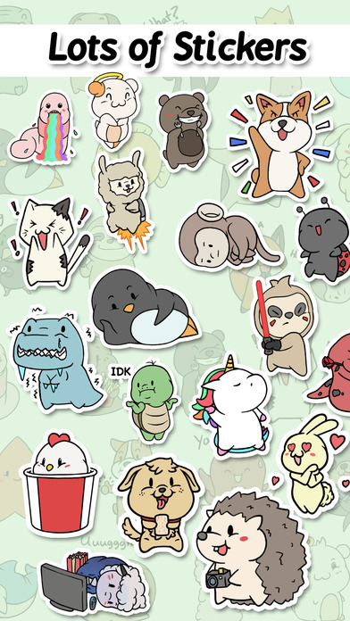 iMessage Sticker App Aminal Stickers Makes Chats More Fun and Memorable Image