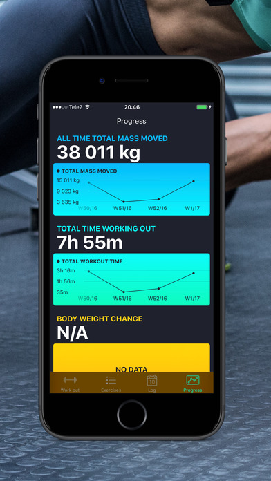 Sidekick – Workout log & Fitness tracker Screenshots