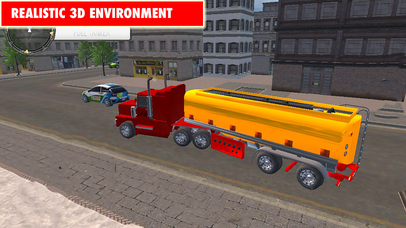 Drive Oil Transport Truck 2017 Pro screenshot 2