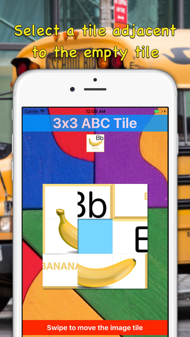 Best 3x3 Alphabet Sliding Tile Puzzle for Toddlers Screenshots