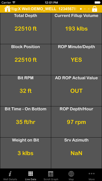 RigWatch Pulse iPhone Screenshot 4