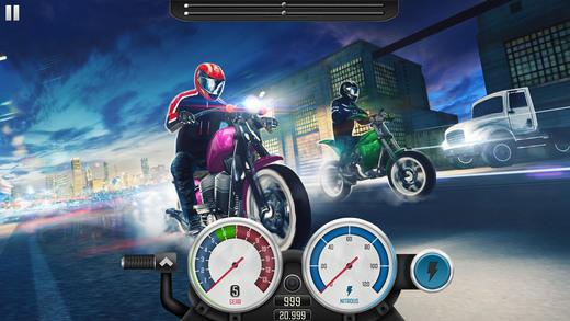 Top Bike: Drag Racing & Motorcycle Rider Wanted 3D Screenshot