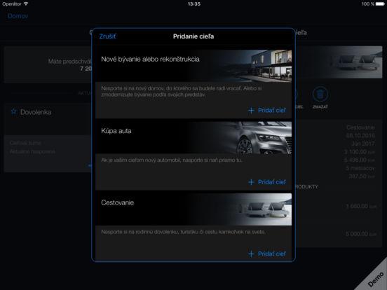Tatra banka iPad Screenshot 3