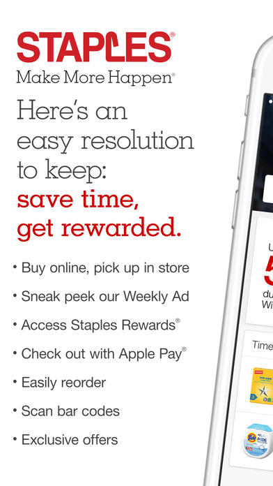 Staples iPhone Screenshot 1