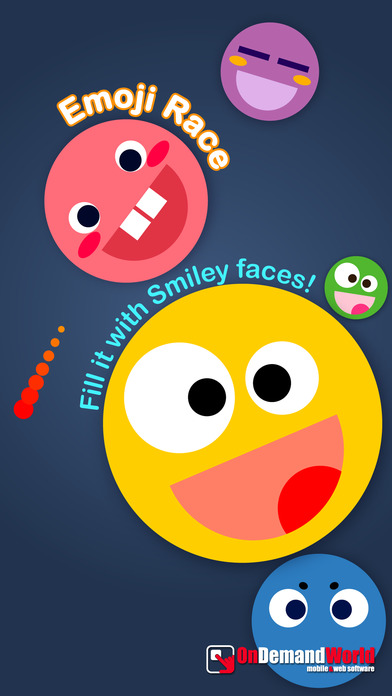 Emoji Race - Fill it with Smiley faces! Screenshots