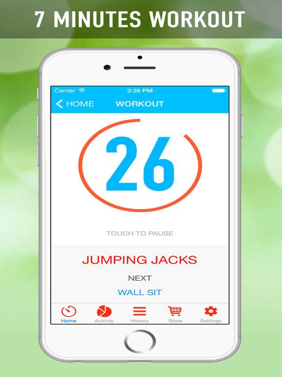 7 Minutes Workout Program Screenshots