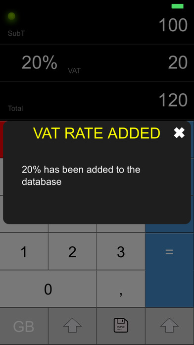 VAT CALC 2011 iPhone Screenshot 4