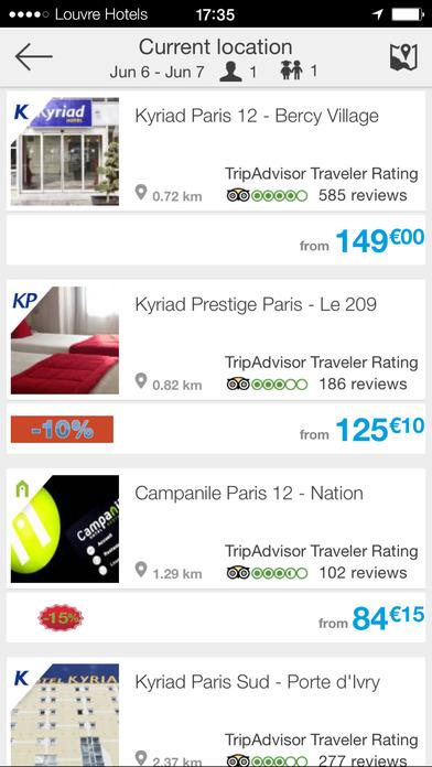 HotelForYou iPhone Screenshot 3