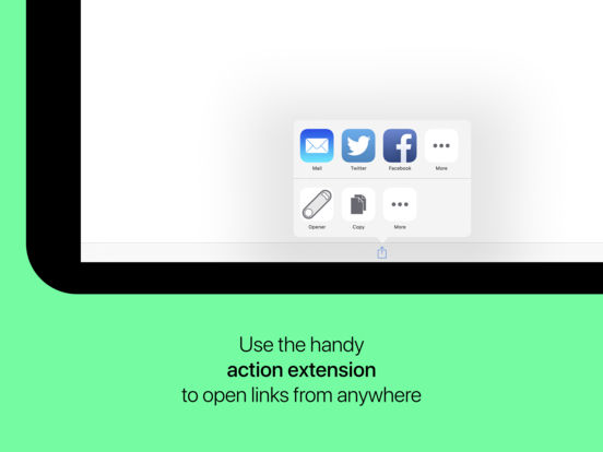 Opener ‒ open links in apps Screenshot