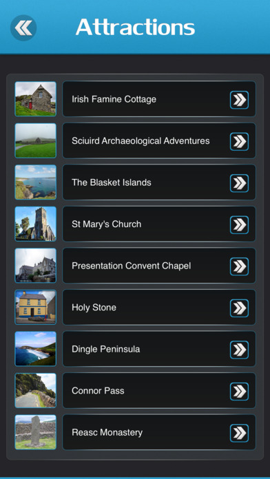 Screenshot for Dingle Travel Guide in United States App Store