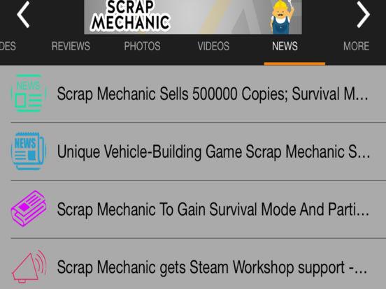 Game Guru - Scrap Mechanic Version iPad Screenshot 5