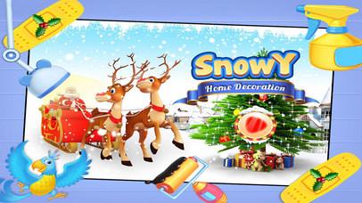 Snowy Home Decoration Pro screenshot 1