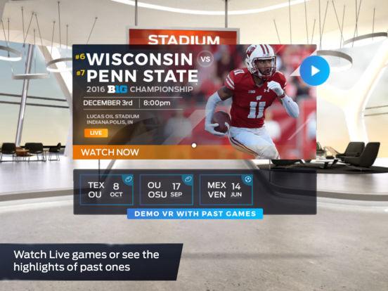 FOX Sports VR screenshot 7