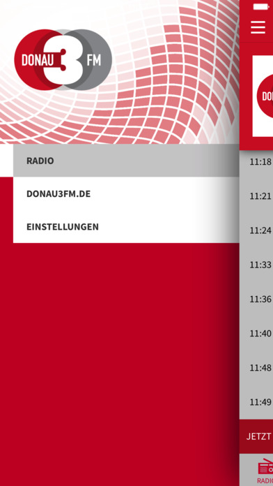 DONAU 3 FM iPhone Screenshot 3