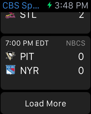 CBS Sports Mobile iPhone Screenshot 9
