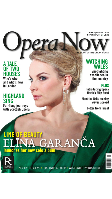 Opera Now Magazine iPhone Screenshot 2