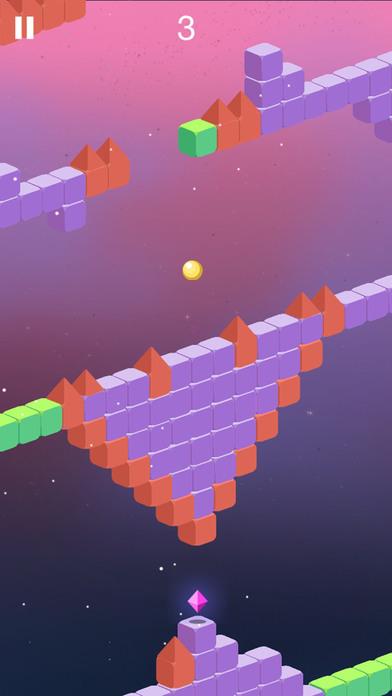 Trio Crazy Ball Cubic Maze Escape screenshot 3