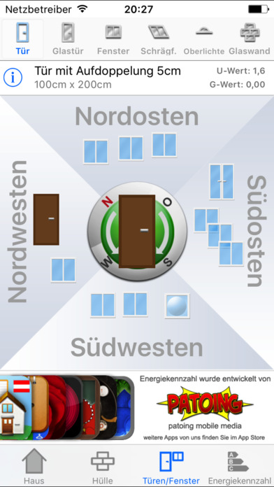 Energiekennzahl iPhone Screenshot 3
