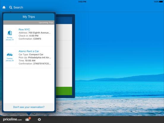 priceline Hotel & Car Negotiator iPad Screenshot 5