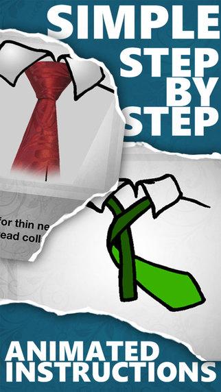Как завязать галстук легко и правильно Screenshot