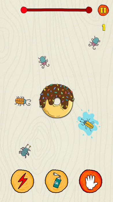 Скриншот Insect Smasher: Cake Guard