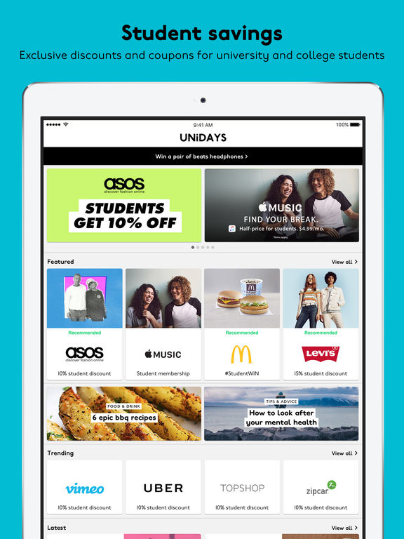 Best apple deals for students