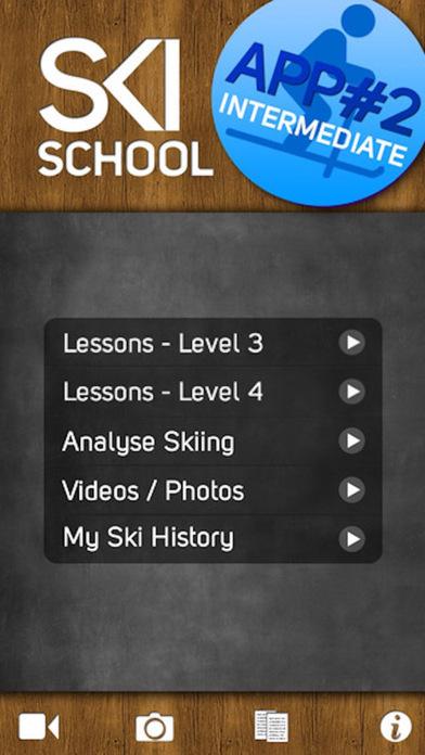 Ski School Intermediate iPhone Screenshot 1