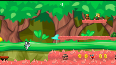 Cute Kitty Cat Junglez Escape screenshot 1